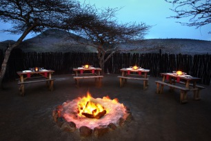 Boma (Outside Dining) Area